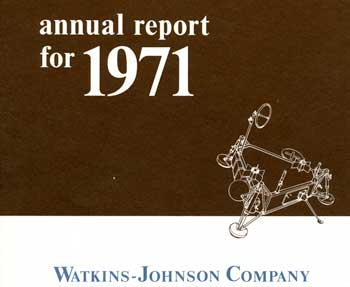 WJ 1971 Annual Report